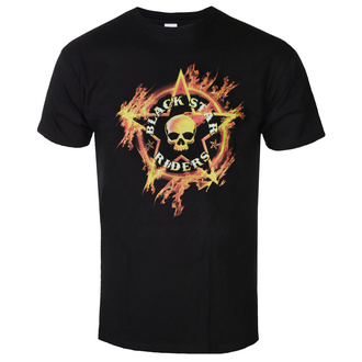 Moška majica BLACK STAR RIDERS - FLAMING SKULL - ČRNA - GOT TO HAVE IT, GOT TO HAVE IT, Black Star Riders
