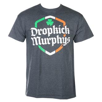 Moška majica Dropkick Murphys - Ire Shield - Dark Heather - KINGS ROAD, KINGS ROAD, Dropkick Murphys
