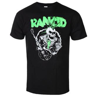 Moška majica Rancid - SkeleTim Guitar - Črna - KINGS ROAD, KINGS ROAD, Rancid