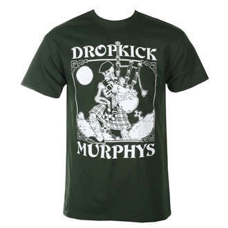 Moška majica Dropkick Murphys - Skelly Piper - Gozdno Zelena - KINGS ROAD, KINGS ROAD, Dropkick Murphys