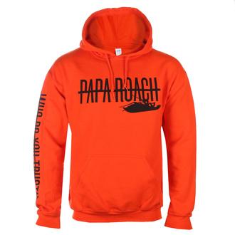 Moški hoodie Papa Roach - WDYT Blaze - Oranžna - KINGS ROAD, KINGS ROAD, Papa Roach
