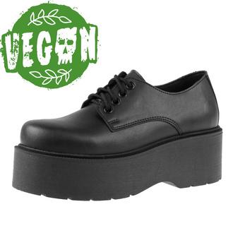 Ženski škornji ALTERCORE - Spell Vegan - Črna, ALTERCORE
