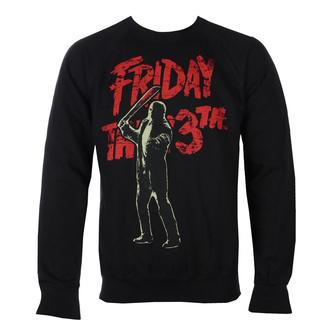 Moški pulover Friday The 13th - Jason Voorhees - Črna - HYBRIS, HYBRIS, Friday the 13th