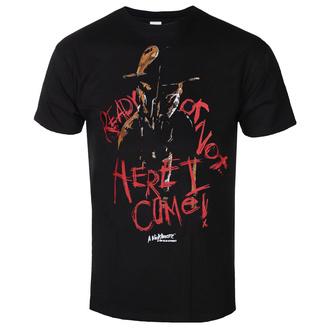 Moška majica A Nightmare On Elm Street - Here I Come - Črna - HYBRIS, HYBRIS, Mora v ulici brestov