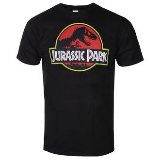 Moška majica Jurassic park - Distressed Logo - Črna - HYBRIS, HYBRIS, Jurski park