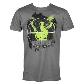 Moška majica Predator - Crosshair - Temno siva - HYBRIS, HYBRIS, Predator