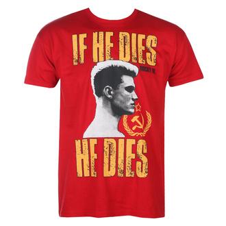 Moška majica Rocky - If He Dies, He Dies - Tango-rdeča - HYBRIS, HYBRIS, Rocky