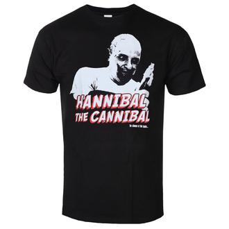 Moška majica The Silence of the Lambs - Hannibal - The Cannibal - Črna - HYBRIS, HYBRIS, Ko jagenjčki obmolknejo