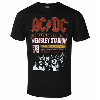 Moška majica AC / DC - Wembley '79 - ROCK OFF - ACDCECOTS01MB