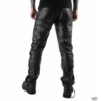 moške usnjene hlače OSX - Out-Law - Črna, OSX