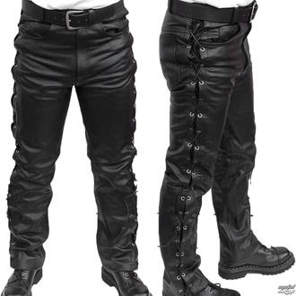 usnjene moške hlače MOTOR - MOT003 - POŠKODOVANO, MOTOR