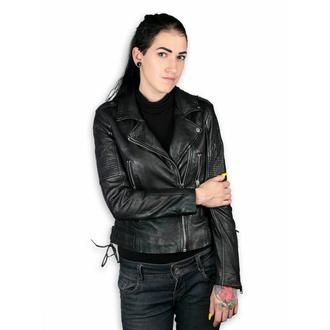 Ženska jakna (metal jakna) - WONDER WOMAN - LAMEV MET / BLK - M0010772 - POŠKODOVANO - BH094