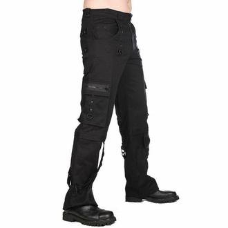 moške hlače Black Pistol - Pyramide - Črna - B-1-29-001-00 - DAMAGED, BLACK PISTOL