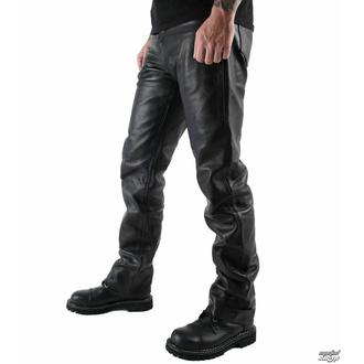 moške usnjene hlače OSX - Martin - Črna - 301 - DAMAGED, OSX
