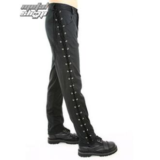 moške hlače Black Pistol - Loop Jeans Denim Črna - B-1-24-001-00 - DAMAGED, BLACK PISTOL