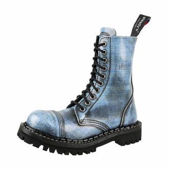 Škornji STEADY´S - 10 očesc - Jeans, STEADY´S