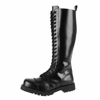 Škornji NEVERMIND - 20 očesc - BLACK POLIDO, NEVERMIND
