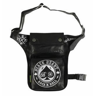 Torba (bum torba/ bočna torba) BLACK HEART - ACE OF SPADE, BLACK HEART
