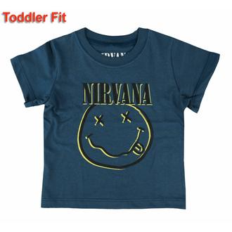 Otroška majica Nirvana - Inverse Smiley - ROCK OFF, ROCK OFF, Nirvana