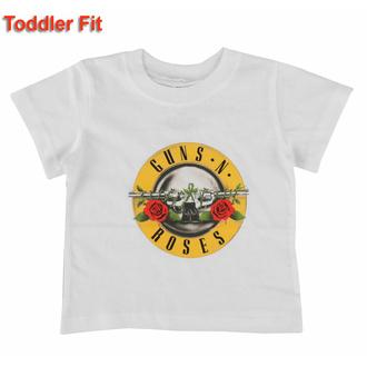 Otroška majica Guns N' Roses - Classic Logo - WHT - ROCK OFF, ROCK OFF, Guns N' Roses