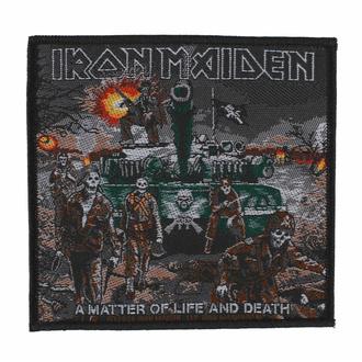 Našitek IRON MAIDEN - A MATTER OF LIFE AND DEATH - RAZAMATAZ, RAZAMATAZ, Iron Maiden