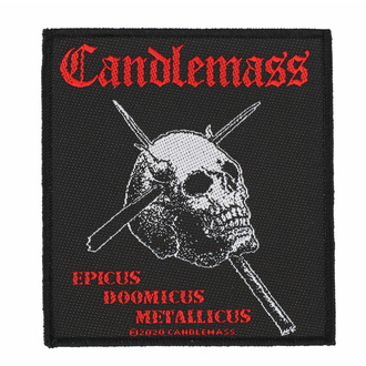 Našitek CANDLEMASS - EPICUS DOOMICUS METAL LICUS - RAZAMATAZ, RAZAMATAZ, Candlemass