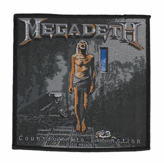 Našitek MEGADETH - COUNTDOWN TO EXTINCTION - RAZAMATAZ, RAZAMATAZ, Megadeth