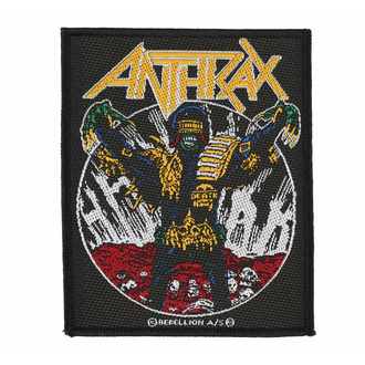 Našitek ANTHRAX - JUDGE DEATH - RAZAMATAZ, RAZAMATAZ, Anthrax