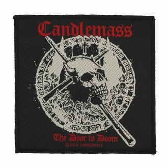 Našitek CANDLEMASS - THE DOOR TO DOOM - RAZAMATAZ, RAZAMATAZ, Candlemass