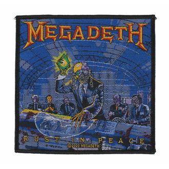 Našitek MEGADETH - RUST IN PEACE - RAZAMATAZ, RAZAMATAZ, Megadeth