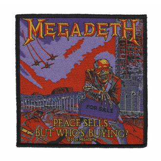 Našitek MEGADETH - PEACE SELLS - RAZAMATAZ, RAZAMATAZ, Megadeth