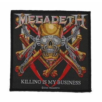 Našitek MEGADETH - KILLING IS MY BUSINESS - RAZAMATAZ, RAZAMATAZ, Megadeth