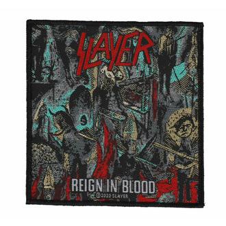 Našitek SLAYER - REIGN IN BLOODSLAYER - REIGN IN BLOOD - RAZAMATAZ, RAZAMATAZ, Slayer