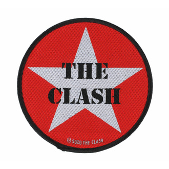 Našitek THE CLASH - MILITARY LOGO - RAZAMATAZ, RAZAMATAZ, Clash