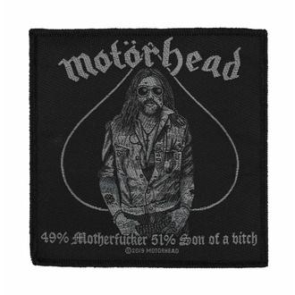 Našitek Motörhead - 49% MOTHERFUCKER - RAZAMATAZ, RAZAMATAZ, Motörhead