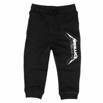 Otroški hlače trenirka Metallica - Logo - črna - bela - Metal-Kids, Metal-Kids, Metallica