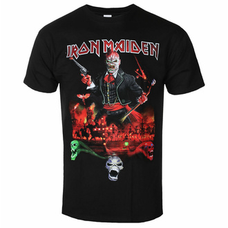 Moška majica Iron Maiden - LOTB Live Album - Črna - ROCK OFF, ROCK OFF, Iron Maiden