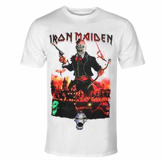 Moška majica Iron Maiden - LOTB Live In Mexico City - Bela - ROCK OFF, ROCK OFF, Iron Maiden