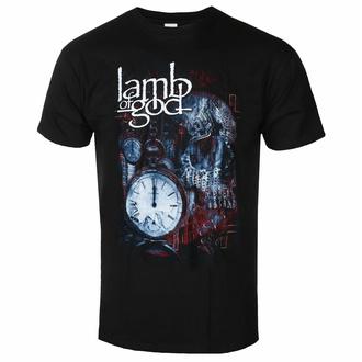 Moška majica Lamb Of God - Circuitry Skull Recolor - Črna - ROCK OFF, ROCK OFF, Lamb of God