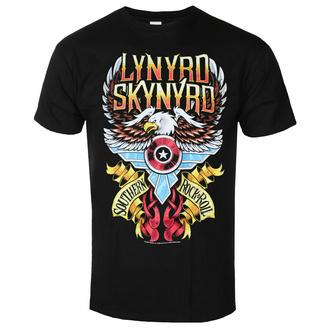 Moška majica Lynyrd Skynyrd - South'n Rock & Roll - Črna - ROCK OFF, ROCK OFF, Lynyrd Skynyrd