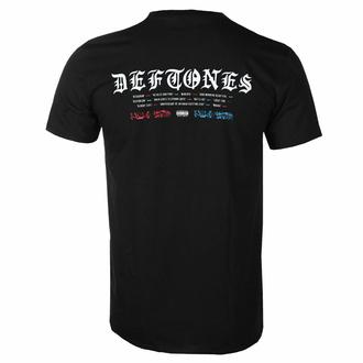 Moška majica Deftones - Static Skull - Črna - ROCK OFF, ROCK OFF, Deftones