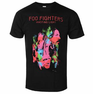 Moška majica Foo Fighters - Wasting Light - Črna - ROCK OFF, ROCK OFF, Foo Fighters