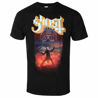 Moška majica Ghost - EU Admat - Črna - ROCK OFF, ROCK OFF, Ghost