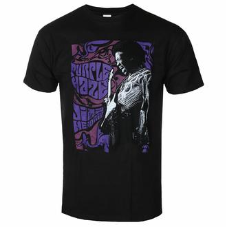 Moška majica Jimi Hendrix - Purple Haze - Črna - ROCK OFF, ROCK OFF, Jimi Hendrix