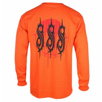 Moška majica z dolgimi rokavi Slipknot - Winged Devil - ORANGE - ROCK OFF, ROCK OFF, Slipknot