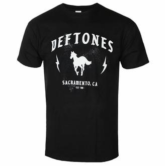 Moška majica Deftones - Electric Pony - Črna - ROCK OFF, ROCK OFF, Deftones