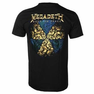 Moška majica Megadeth - Rust In Peace 30th Anniversary - Črna - ROCK OFF, ROCK OFF, Megadeth