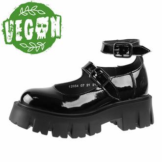 Ženski čevlji ALTERCORE - Constance Vegan Black Patent, ALTERCORE