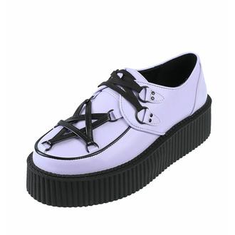 ženski čevlji KILLSTAR - Hexellent Creepers - Lila, KILLSTAR