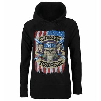Ženski hoodie Guns N' Roses - Skull, NNM, Guns N' Roses